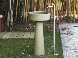 Agape Outdoor Bjhon 1 lavabo de pié ACER1081E