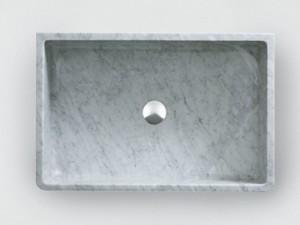 Agape Outdoor Carrara lavabo sobre encinera ACER0730EPPG
