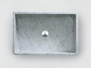 Agape Carrara lavabo sobre encimera ACER0730P