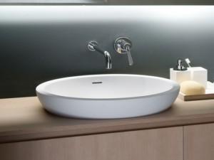 Agape Spoon XL lavabo empotrado ACER0713IZ
