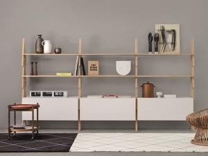 Agapecasa Cavalletto composition estanteria en madera ACVL