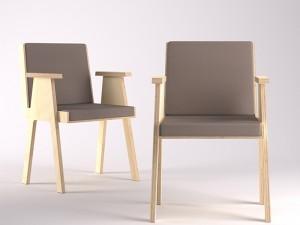 Agapecasa Club 44 silla con brazos ACLB528