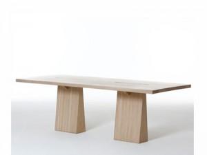 Agapecasa Incas mesa rectangular con dos patas