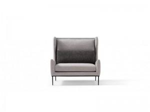 Amura Alice sillón en tela con reposacabezas ALICE070H
