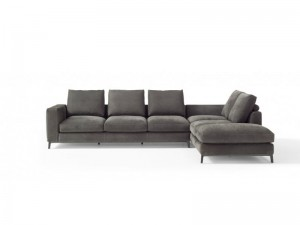 Amura Dorsey sofá seccional de cuero DORSEY031.052