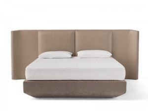 Amura Panis Bed cama doble en cuero PANISBED595.605