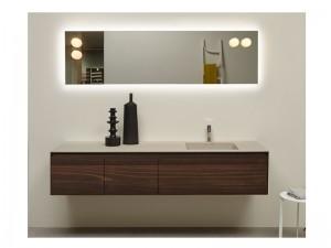 Antonio Lupi Panta Rei composición de muebles de baño PANTA-REI