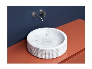 Antonio Lupi Pixel lavabo sobre encimera PIXEL45