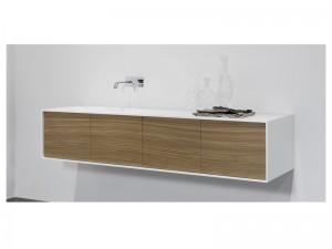 Antonio Lupi Planeta composición de muebles de baño PLANETA