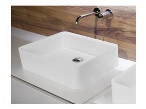 Antonio Lupi Servoretto lavabo sobre o bajo encimera 63cm RETTOMOOD63-Flumood