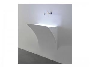 Antonio Lupi Strappo lavabo mural STRAPPO