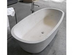 Antonio Lupi Baia bañera en piedra BAIA-STONE