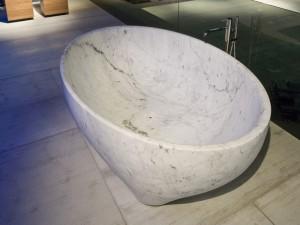 Antonio Lupi Solidea bañera en piedra SOLIDEA