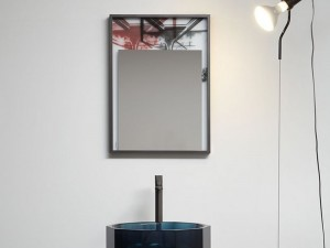 Antonio Lupi Collage espejo collage con estampado COLLAGE350