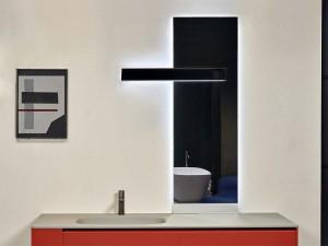 Antonio Lupi Neuluce espejo rectangular con led blanco NEULUCE1