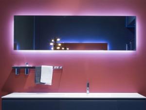 Antonio Lupi Vario espejo rectangular con led blanco VARIO50W