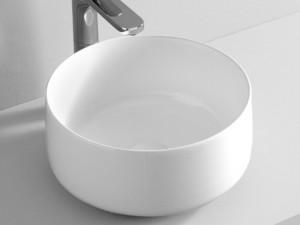 Artceram Cognac35 lavabo sobre encimera blanco matte COL00405