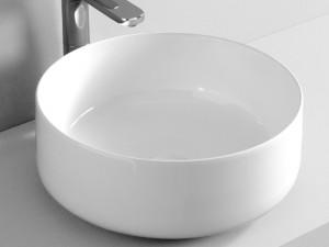 Artceram Cognac42 lavabo sobre encimera blanco matte COL00105