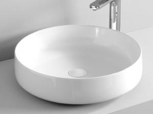 Artceram Cognac48 lavabo sobre encimera blanco matte COL00205