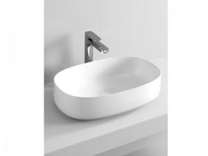 Artceram Cognac55 lavabo sobre encimera blanco matte COL003-05