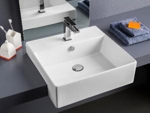 Artceram Quadro 50 lavabo empotrado QUL004