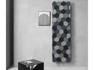 Caleido Honey calefactor vertical de design FHONE2200C