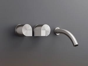 Cea Duet grifo para lavabo 3 agujeros mural DET20