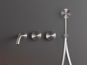 Cea Giotto Plus grifo para bañera 4 agujeros mural con ducha de mano GIO94
