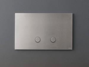 Cea Hydroplate pulsador para inodoro con dos botones en relieve PLA01