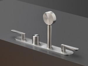 Cea Lutezia mezclador termostático para bañera con 2 valvulas de cierre y ducha de mano extraíble LTZ3