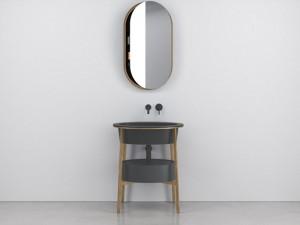 Cielo Catino Ovale mueble con lavabo
