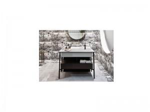 Cielo Catino Rettangolare mueble con lavabo