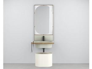 Cielo Elle Ovale mueble con lavabo
