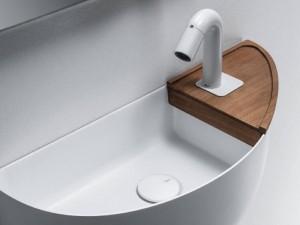 Falper Bowllino repisa en madera para lavabo WL4