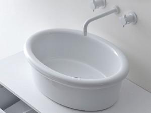 Falper Cocò lavabo sobre encimera DWH