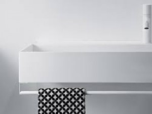 Falper Quattro.Zero toalleros para lavabo mural