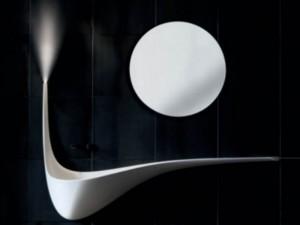 Falper Wing lavabo mural D5Q