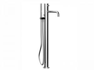 Fantini AF/21 grifo para bañera de pié con desviador y ducha de mano A580B
