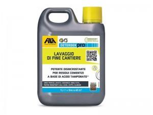 Fila Deterdekpro detergente descalcificador ácido DETERDEKPRO