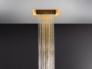 Gessi Afilo rociador de ducha de techo con cromoterapia 57301