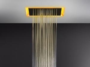 Gessi Afilo rociador de ducha de techo con cromoterapia 57501