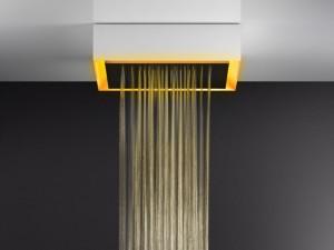 Gessi Afilo rociador de ducha de techo con cromoterapia 57503