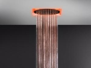 Gessi Afilo rociador de ducha de techo con cromoterapia 57601