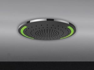 Gessi Colour rociador de ducha de techo con cromoterapia 57923