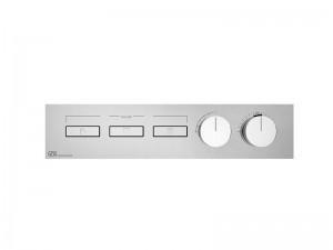 Gessi HI-FI Linear mezclador termostático con 3 funciones 63014