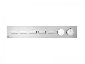 Gessi HI-FI Linear mezclador termostático con 5 funciones 63018