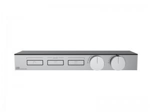 Gessi HI-FI Shelf mezclador termostático de estante con 3 funciones 63024