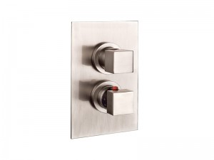 Gessi Rettangolo mezclador termostatico ducha con desviador 20132.031