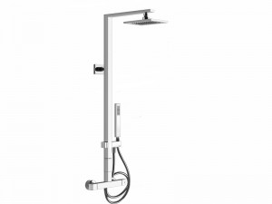 Gessi Rettangolo Shower columna de ducha 23447