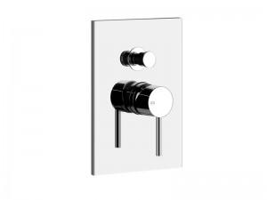 Gessi Via Tortona grifo para ducha con desviador 44664.031